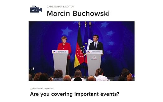 Marcin Buchowski Cameraman & Editor